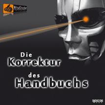 Hörspiel-Cover: Die Korrektur des Handbuchs