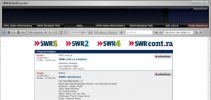 Mit dem SWR-Radiorecorder Hörspiele aufnehmen